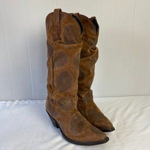 dingo | 9M. Tall Pull On Cowboy Boots